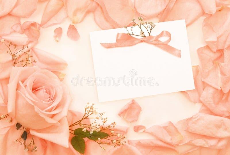 kortinbjudantappning royaltyfria bilder