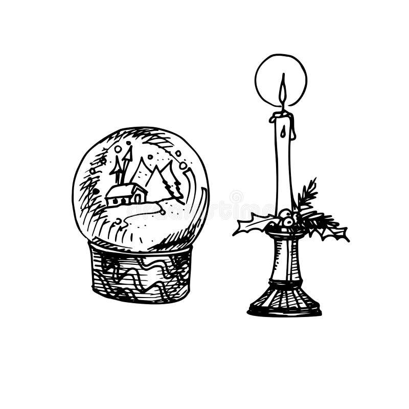 kortjul som greeting stock illustrationer
