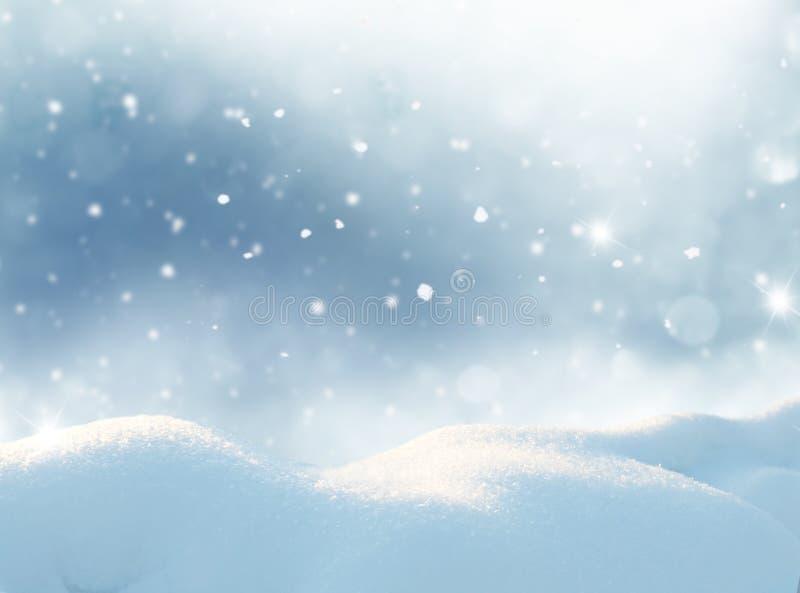 kortjul som greeting lyckligt glatt nytt år Vinterlandsca arkivfoto