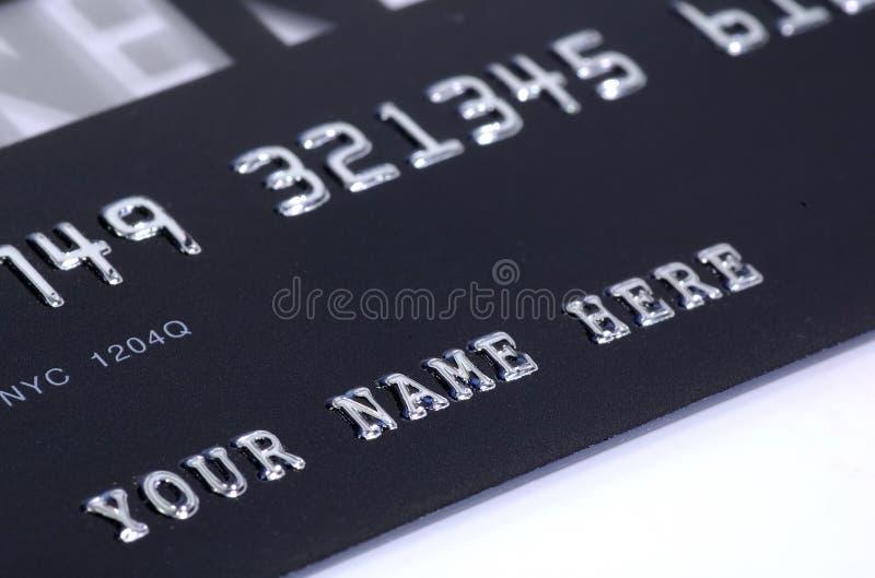 kortkreditering royaltyfri bild