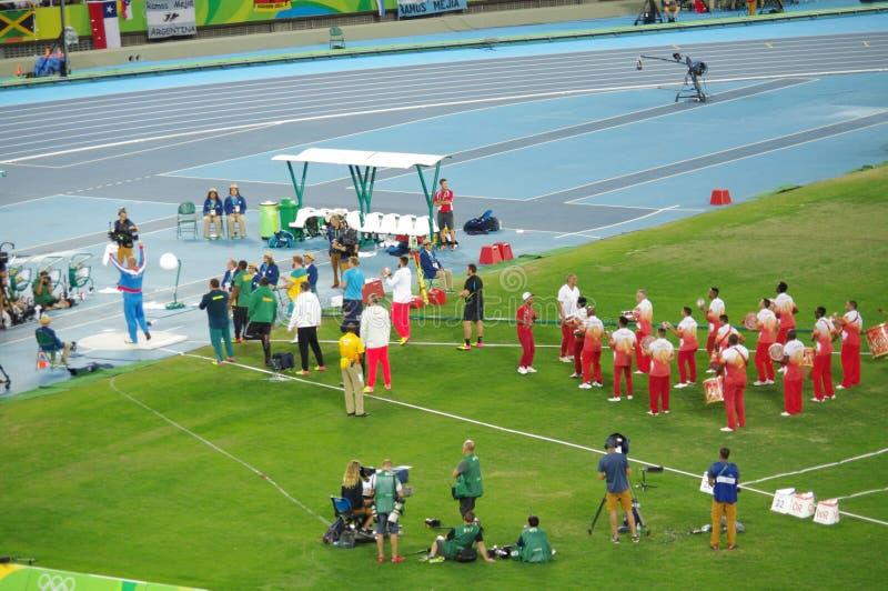 Kortslutningen för man` s satte finaler på OS:er Rio2016 arkivbilder