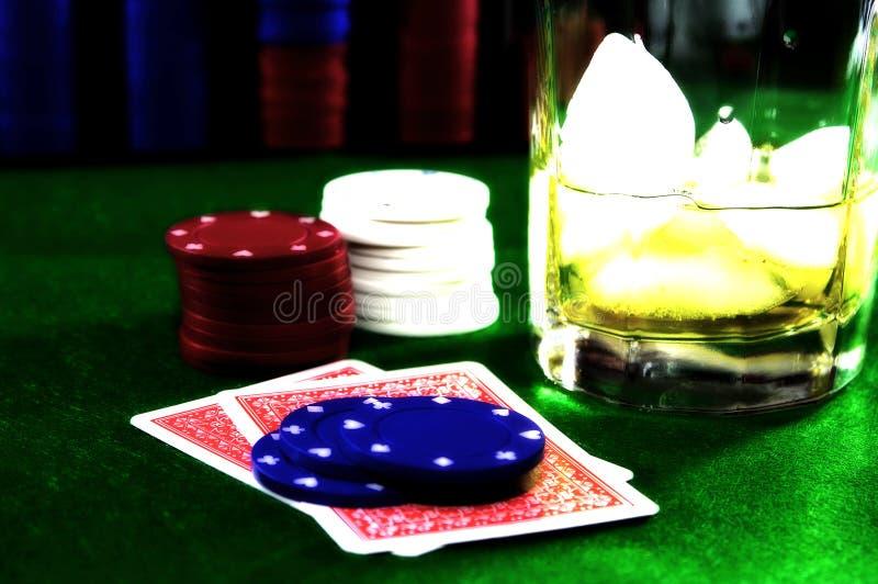 kortspel 5 royaltyfri foto