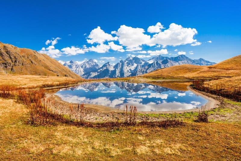 Koruldi湖, Svaneti 库存照片