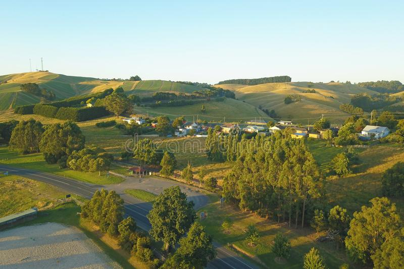 Download Korumburra Township In South Gippsland Stock Photo - Image of drone, altitude: 107004432