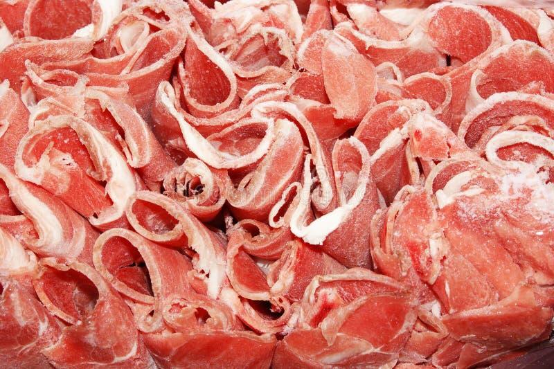 korvar för ny meat royaltyfri bild