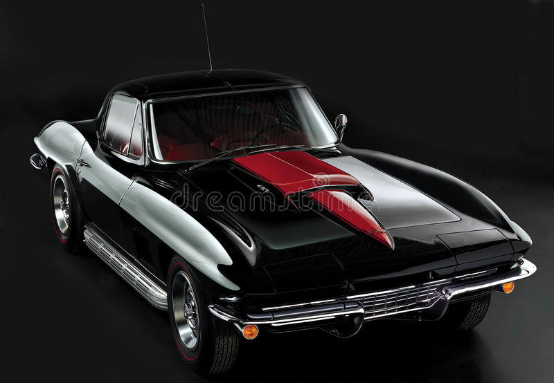 Korvette 1966 lizenzfreies stockbild