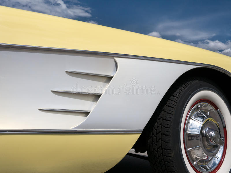 Korvette-Details lizenzfreies stockfoto