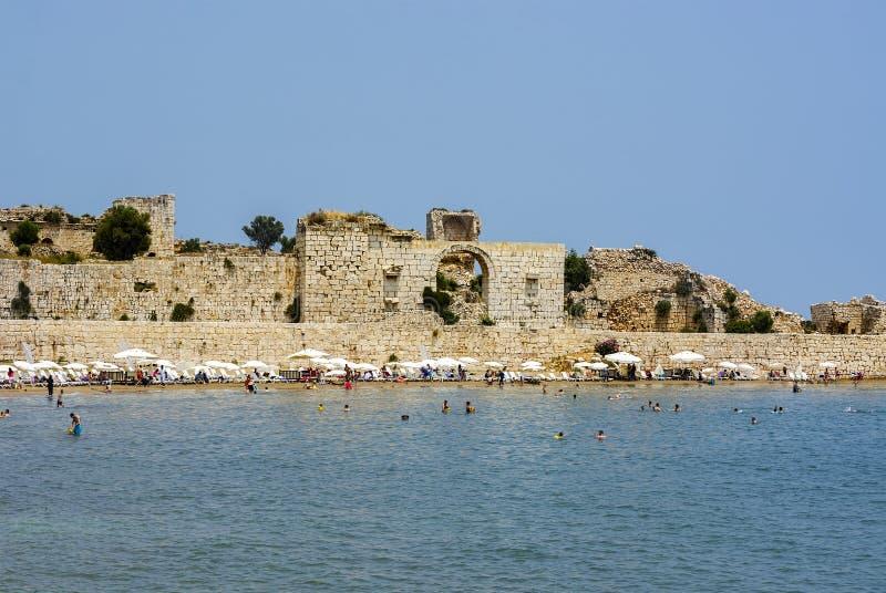 korykos,kizkalesi航空,土耳其阿联酋海滩里程卡图片