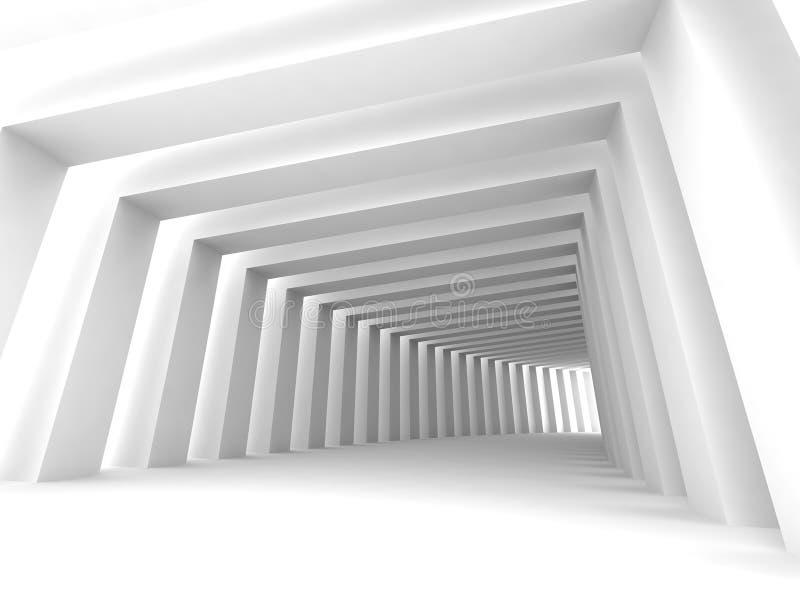 korytarz błyszczał royalty ilustracja