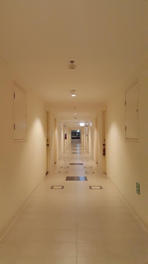 korytarz bright obraz stock