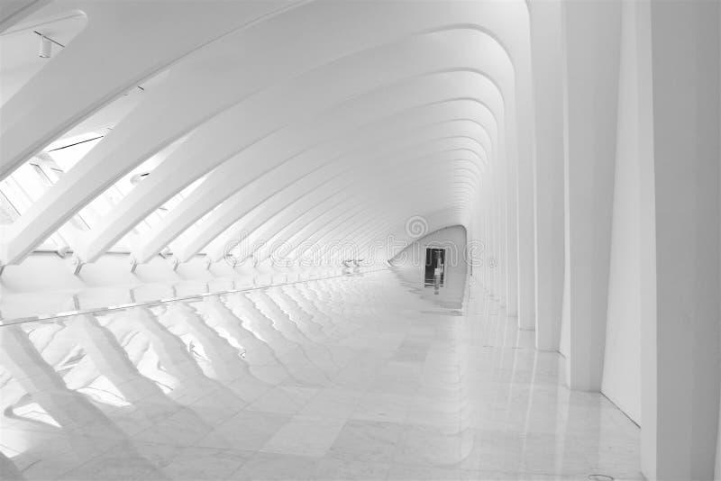 korytarz jest nowoczesna architektura zdjęcie stock