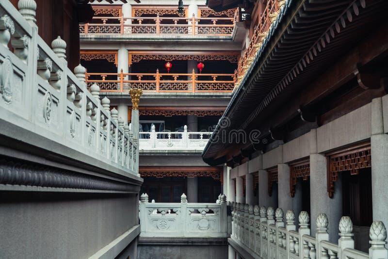 Korytarz Jing «świątynia obrazy royalty free