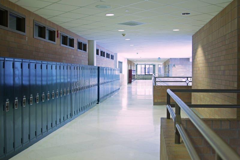 korytarz szkoła zdjęcie royalty free