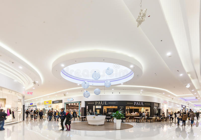 Shoping centrum handlowe fotografia royalty free