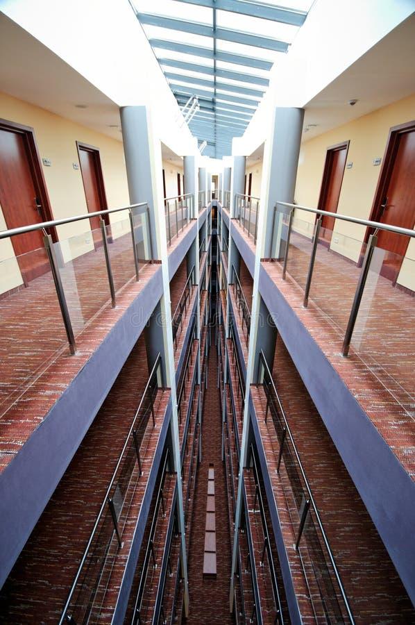 korytarza hotel zdjęcia royalty free