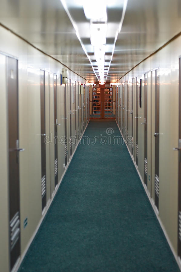 korytarza naczynie fotografia stock