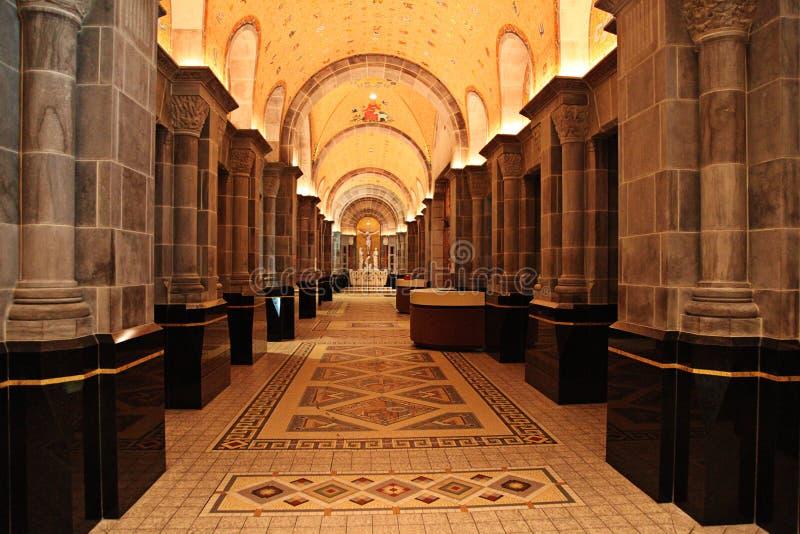 korytarza pałac zdjęcia stock