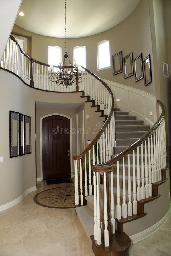 korytarza schody obrazy stock