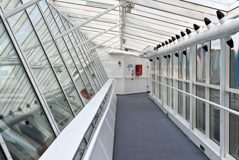 korytarza statek zdjęcie stock