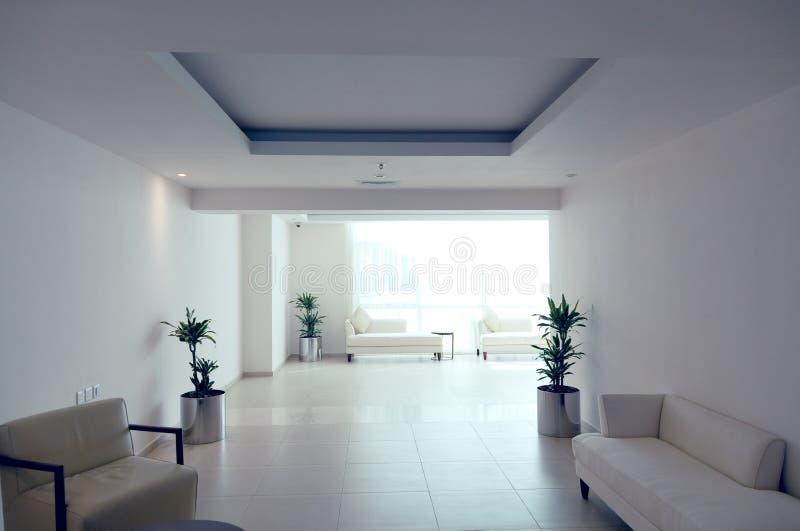 korytarza szablon wewnętrzny nowożytny zdjęcie stock