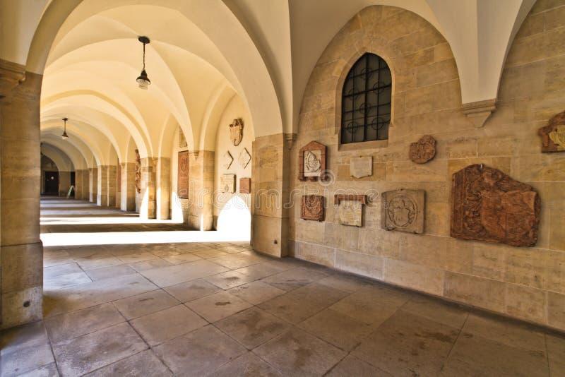 korytarzy kościelni minorites Vienna obraz royalty free