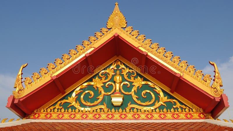 Korzeniowa świątynia zdjęcie royalty free