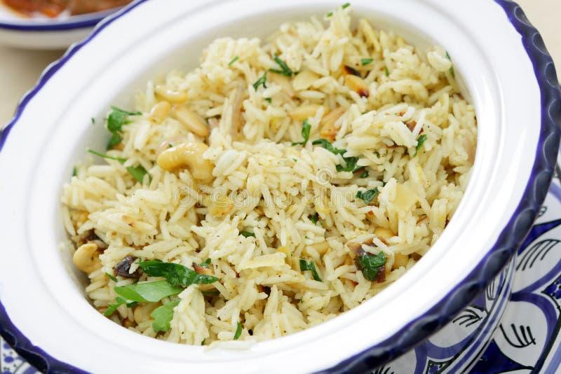 korzenni dokrętka marokańscy ryż obraz stock
