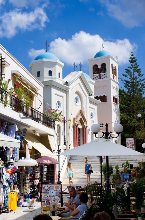Kos stad i Grekland arkivfoton