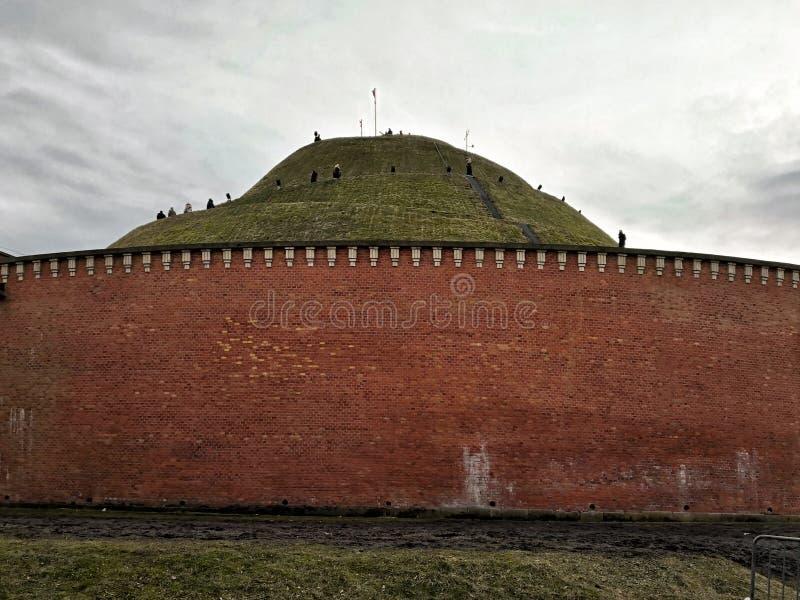 Kosciuszkohoop, één van de beroemdste oriëntatiepunten van de stad van Krakau in Polen royalty-vrije stock afbeeldingen