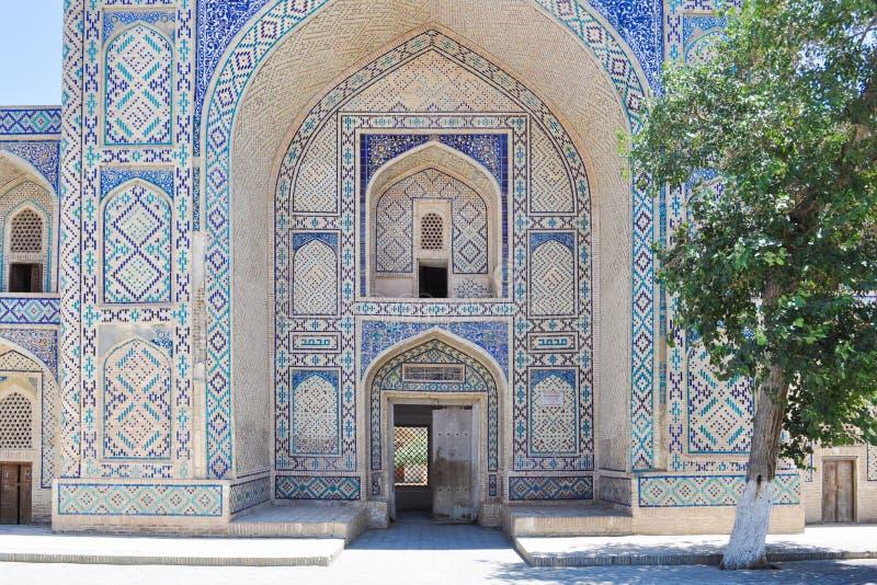 Kosh Madrasah lokalizuje w dziejowej części Bukhara zdjęcie royalty free