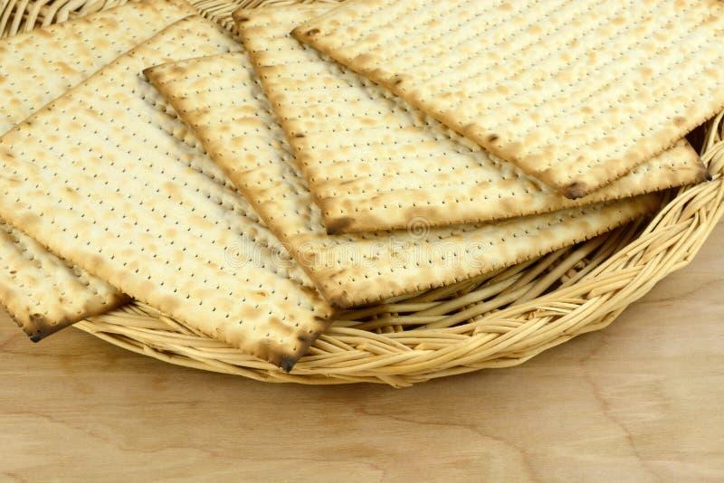 Kosher Egg Matzoh stock image