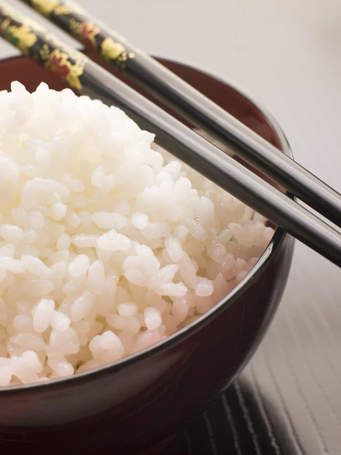 Koshihikari Rice with chop sticks