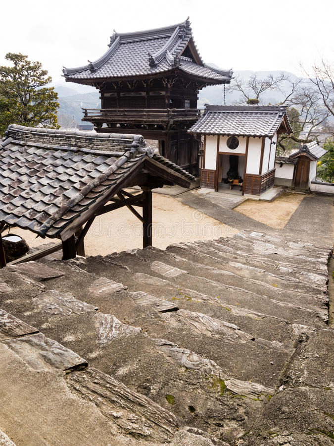 Koshoji świątynia w Uchiko, Japonia obrazy stock