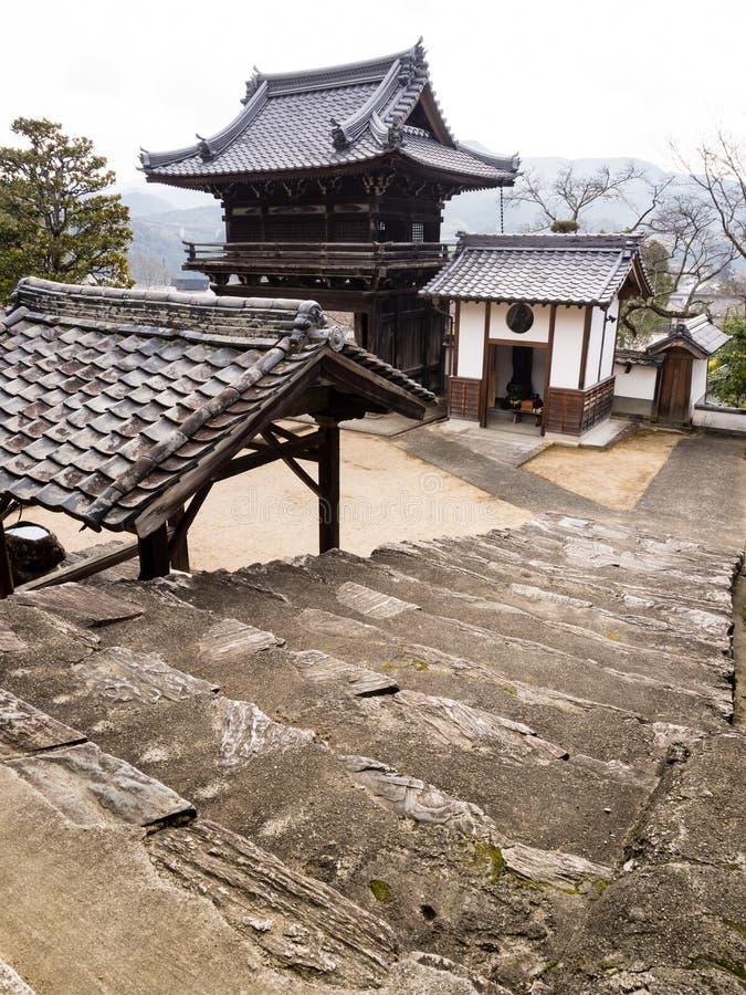 Koshoji temple in Uchiko, Japan stock images