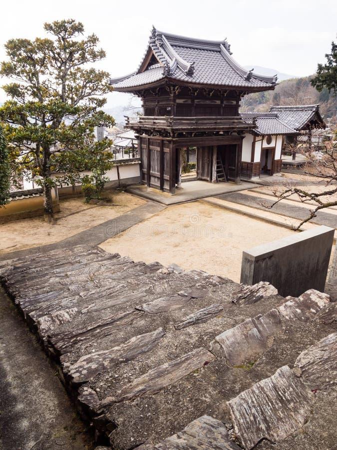 Koshoji temple in Uchiko, Japan stock photo
