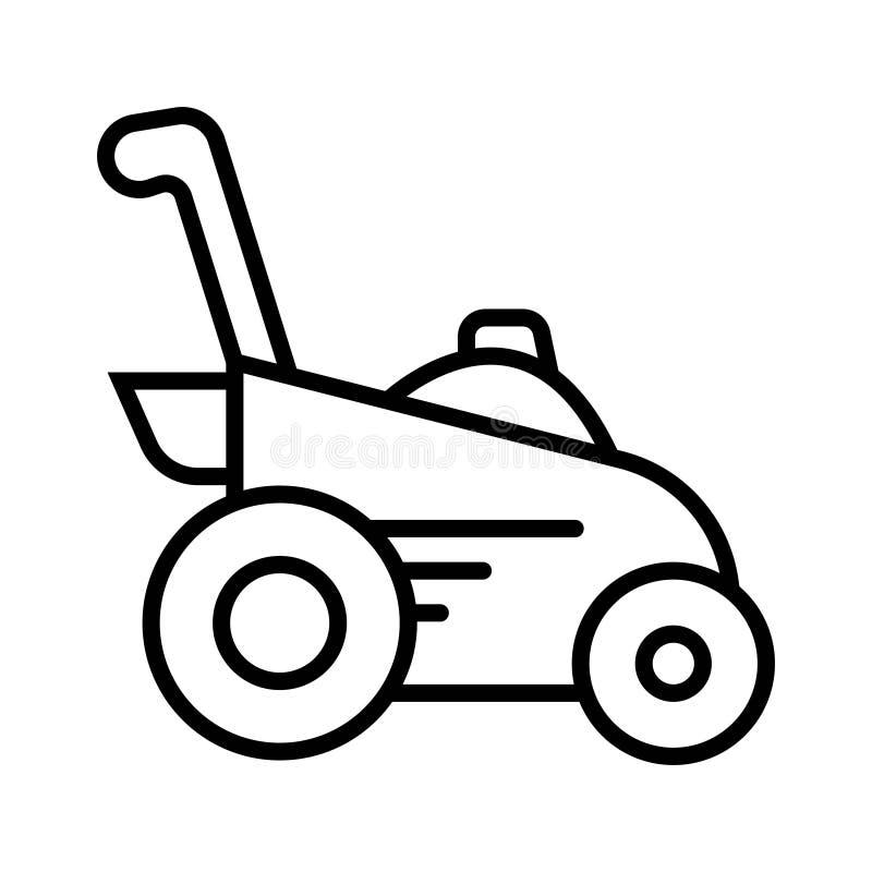 Kosiarz ikony wektor ilustracji