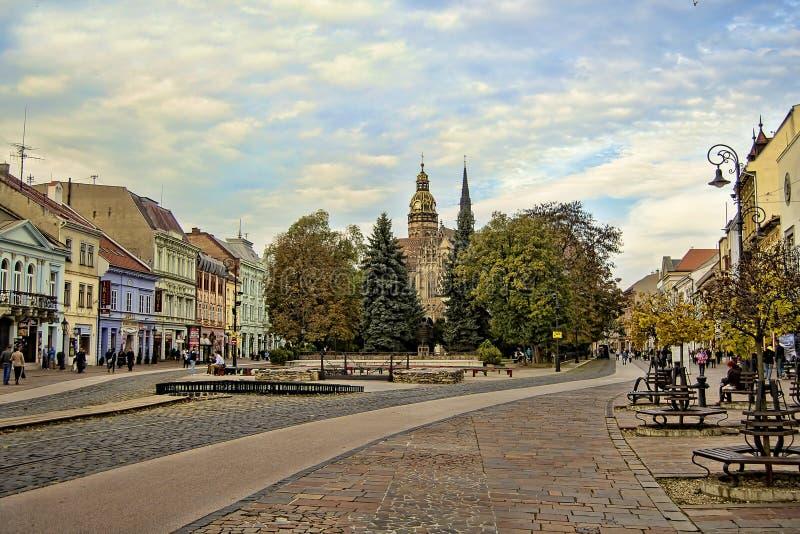 kosice斯洛伐克 免版税库存照片