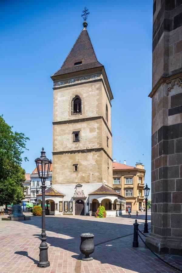 Kosice στη Σλοβακία Καθεδρικός ναός του ST Elisabeth στοκ φωτογραφία