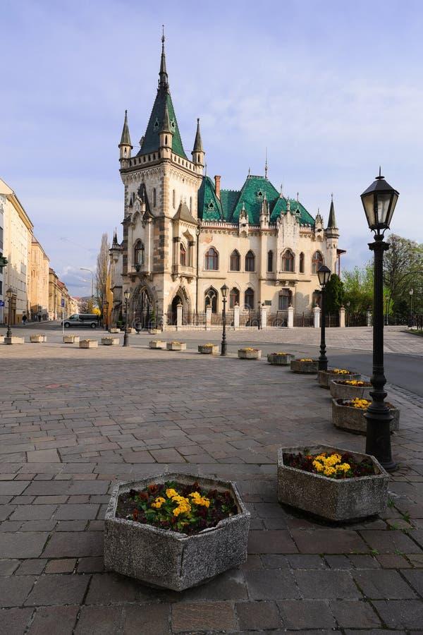 Kosice - дворец Jakabov стоковые фото