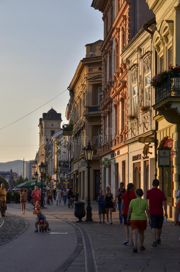 Kosice - la Slovaquie photo stock