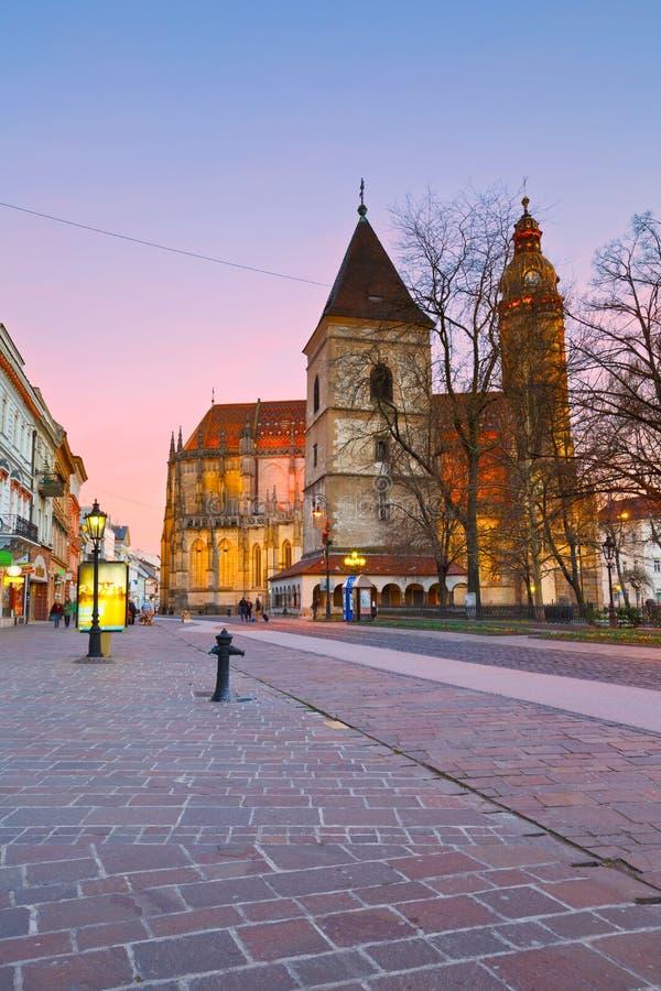 kosice Slovakia zdjęcie stock