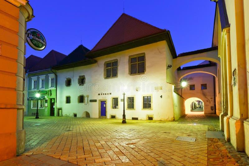 Kosice, Slowakije royalty-vrije stock afbeelding