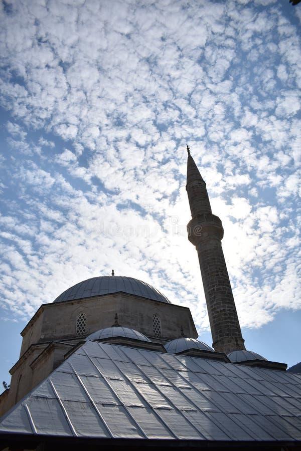 Koski Mehmed PaÅ ¡ ina dÅ ¾ amija u Mostaru fotografia royalty free