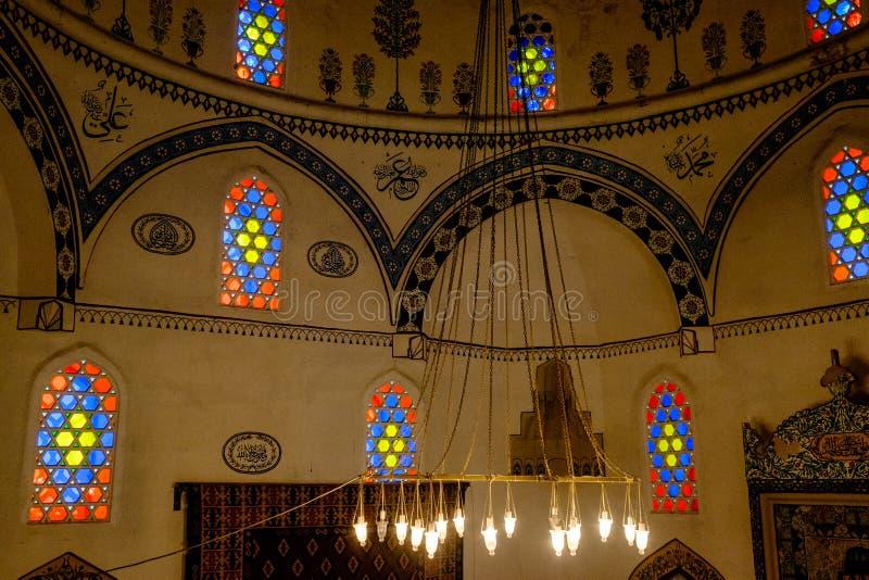 Koski Mehmed Pasha Mosque in Mostar, Bosnië-Herzegovina stock foto