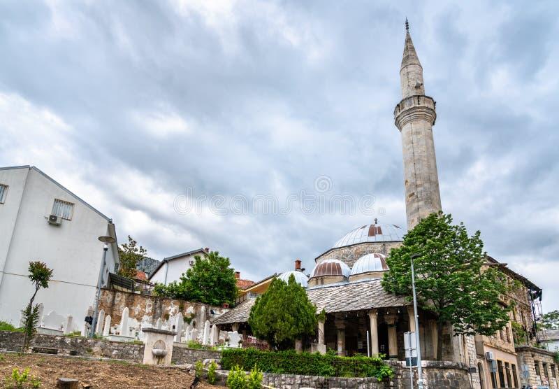 Koski Mehmed Pasha Mosque a Mostar, Bosnia-Erzegovina immagini stock