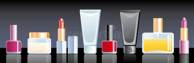 Kosmetik stock abbildung