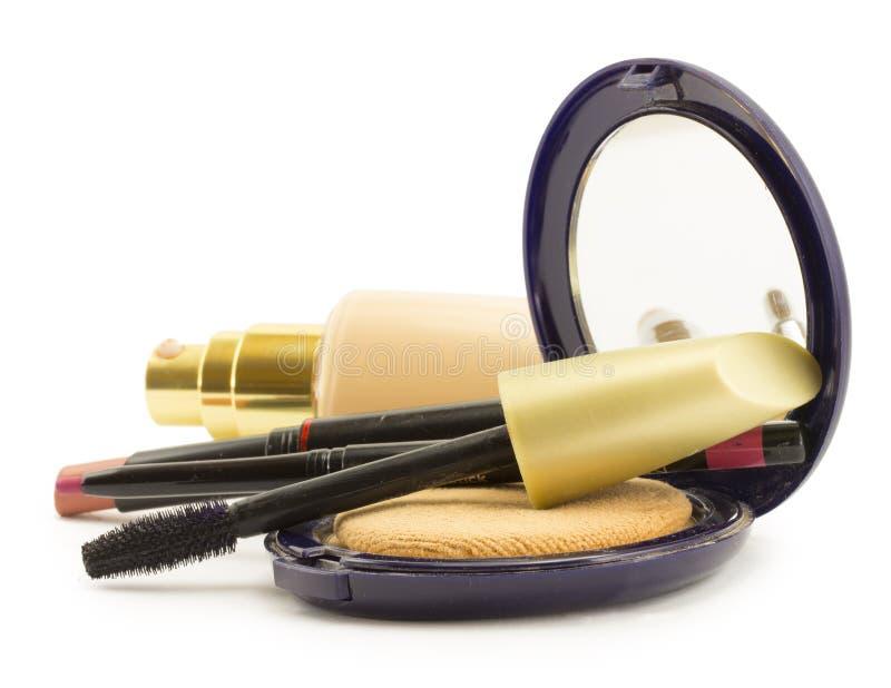 Kosmetik für Gesicht stockbild