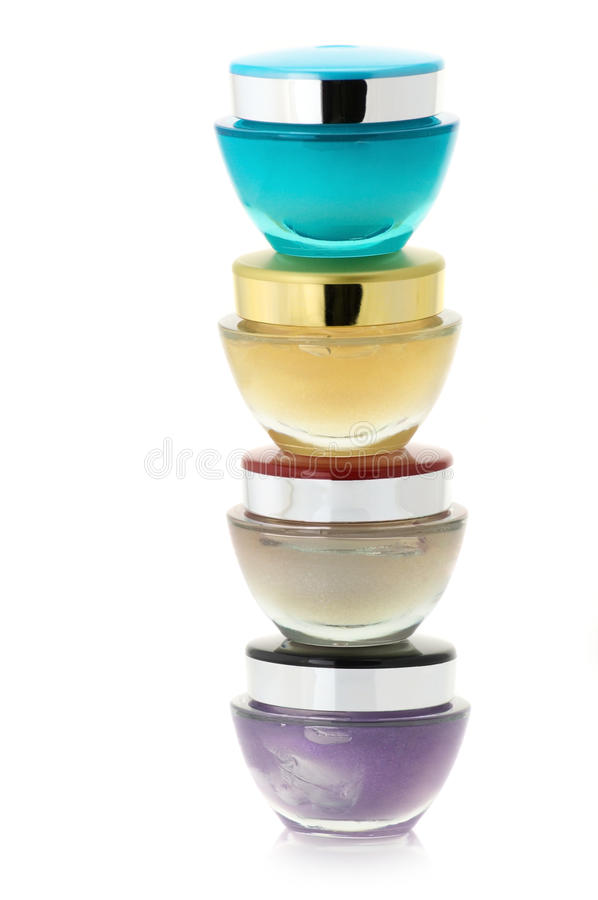Kosmetik sahnt lizenzfreie stockbilder