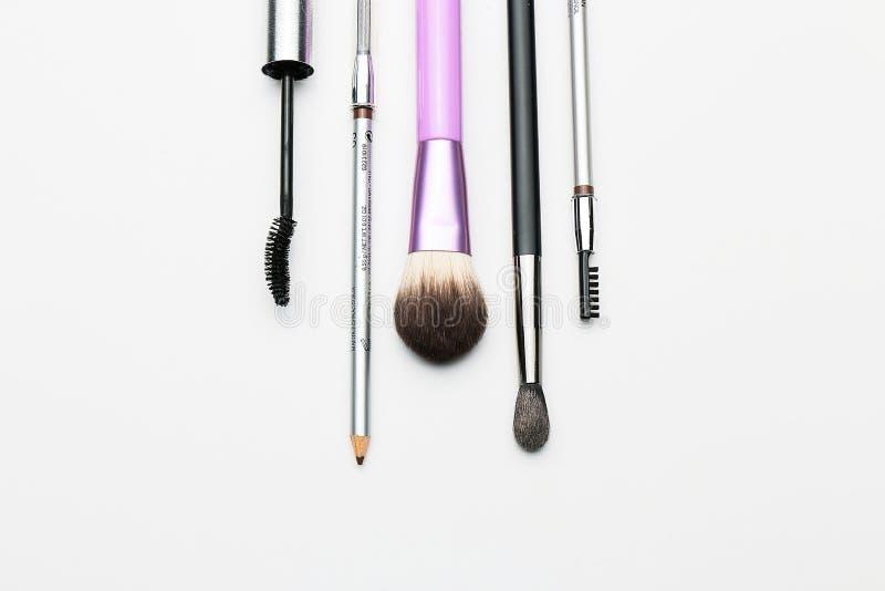Kosmetikstillleben im Studio lizenzfreies stockfoto