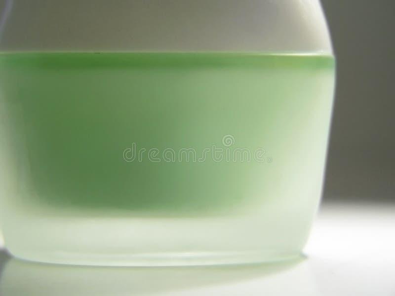 Kosmetische container stock fotografie